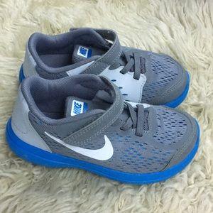 Nike Toddler Kids Sneaker 10C Grey Blue